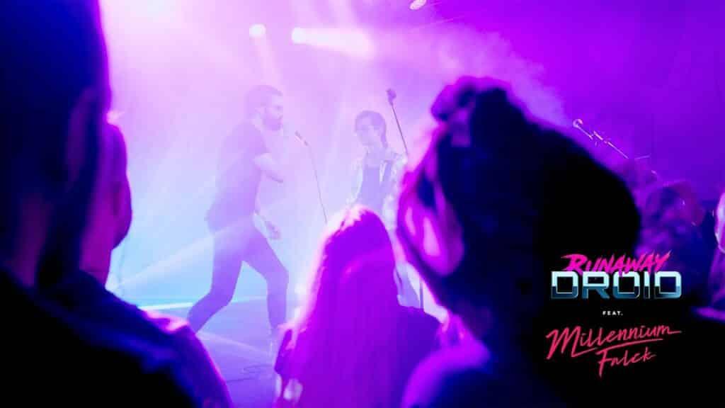 Runaway Droid feat. Millennium Falck - It's My Life (Bon Jovi Synthwave Cover)